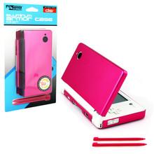 DSi Aluminum Case & Dual Stylus Set - Pink (KMD) KMD-DSI-0155