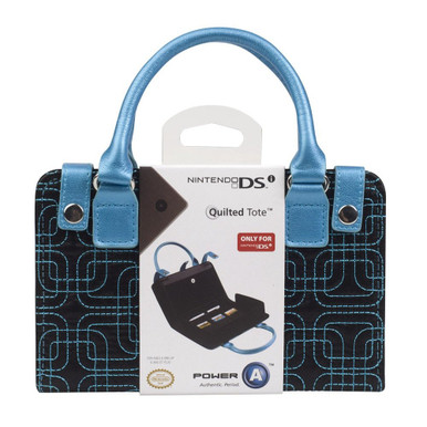 DS Lite Quilted Tote Case - Teal (BDA Power A) BDA-075113