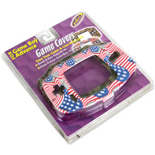 GameBoy Advance Faceplate Cover - American Flag and Camo (Intec) G3342