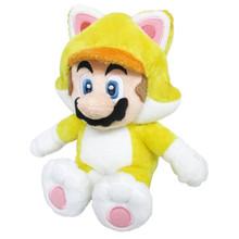 """Cat Mario - Super Mario Bros 10"""" Plush (San-Ei) 1371"""
