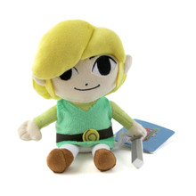 "Link - The Legend of Zelda: The Wind Waker 8"" Plush (San-Ei) 1367"