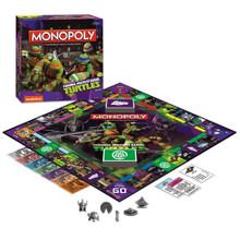 Teenage Mutant Ninja Turtles Monopoly Board Game (USAopoly) MN096-345