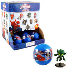Ultimate Spiderman Marvel Minis Gacha Ball Capsules 18 pc. (Zagtoy)