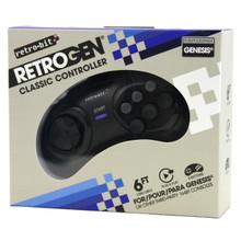Genesis 6-button RetroGEN Controller Pad (Retro-Bit) RB-GEN-4507