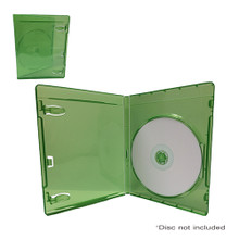 [50 Pcs.] Xbox One DVD Retail Game Case Media Package - Clear Green