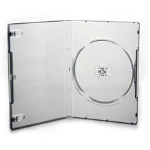 [100 pcs.] Xbox 360 DVD Retail Game Case Media Package - Clear Grey