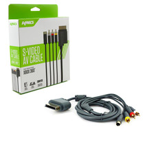 Xbox 360 S-Video & AV SAV Cable (KMD) KMD-360-0674