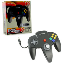 Nintendo 64 USB Classic Controller - Black (RetroLink) RB-PC-861