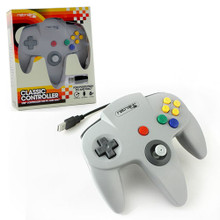 Nintendo 64 USB Classic Controller - Grey (RetroLink) RB-PC-892