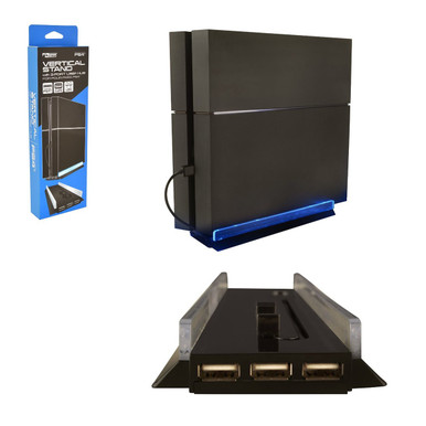 PS4 Vertical Stand with 3 USB Port (KMD) KMD-PS4-4726