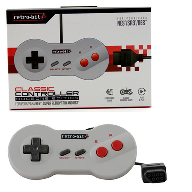 NES Dog Bone Controller Pad (Retro-Bit) RB-NES-0959