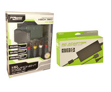 Xbox 360 Slim AC Adapter & HD Component Cable Bundle (KMD)
