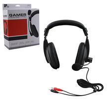 PC Stereo Gaming Pro Headset w/ Boom Mic - Black (TTX Tech) MC-PC-090