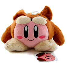 "Kirby Animal - Kirby Adventures Small 6"" Plush (San-Ei) 1323"
