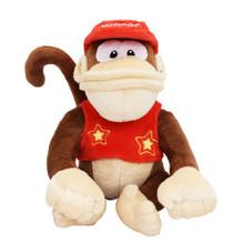 "Diddy Kong - Super Mario Bros 7"" Plush (San-Ei) 1587"