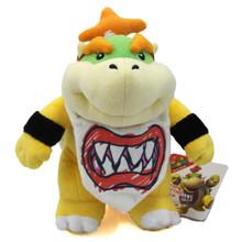 """Bowser Jr. - Super Mario Bros 9"""" Plush (San-Ei) 1424"""