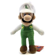 """Fire Luigi - Super Mario Bros 9"""" Plush (San-Ei) 1250"""