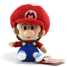 "Baby Mario - Super Mario Bros 5"" Plush (San-Ei) 1247"