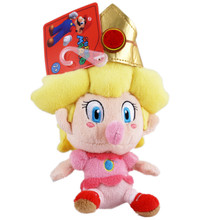 "Baby Peach - Super Mario Bros 5"" Plush (San-Ei) 1249"