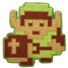"8-bit Link - The Legend of Zelda 9"" Plush (Jakks Pacifics)"