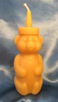 Honey Bear Bottle Candle (Individual)