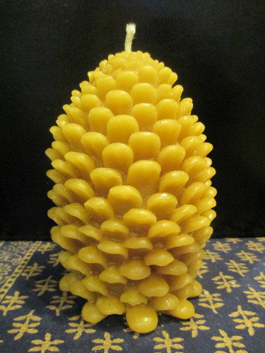 Pine Cone Candle - Large