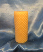 Diamond pillar candle