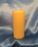 Diamond pillar candle