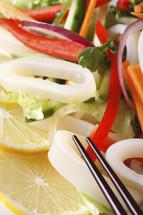 Calamari Salad - Per 8 oz