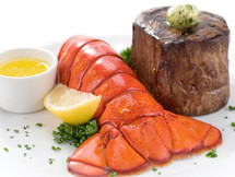 Maine Lobster Tails and Filet Mignon