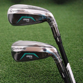 TaylorMade 2018 GAPR MID 4 AND 5 Hybrid Rescue Matched Set - Stiff Flex - NEW