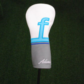 Adam's Golf Head Cover Ladies Blue Fairway Headcover Simulated Leather - NEW