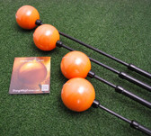 Orange Whip Golf Driver Swing Trainer + Mid-Size + Compact - 3pc Combo SET - NEW