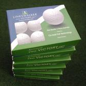 LinksWalker Pro Victory OPT Tour Quality 3-piece Golf Balls, 6 Dozen Packs - NEW
