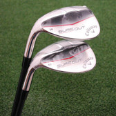 "Callaway Golf - LEFT HAND ""Sure Out"" Wedges 56º & 60º - 2 Pc Matched Set - NEW"