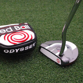 Odyssey Golf Red Ball Putter - Choose Your Length 33/34/35 - NEW