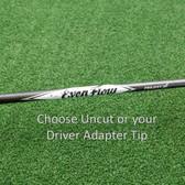 Project X EvenFlow Black Driver Shaft w/Tip&Grip Choose Weight & Flex/Tip - NEW
