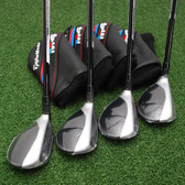 TaylorMade M4 Rescue Choose Individual Hybrid or Set Make-Up & Lofts & Flex -NEW