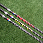 Project X HZRDUS HAND CRAFTED Red Yellow Black Driver Shaft Uncut or Tip&Grip