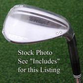Cleveland Golf RTX4 Black Satin Sand/Lob Wedge 58º FULL Sole Grind - NEW