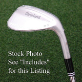 Cleveland Golf RTX4 Tour Satin Chrome Sand/Lob Wedge 58º FULL Sole Grind - NEW