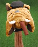 """Critter Club Head Cover """"Bulldog"""" Fairway Wood Headcover - NEW"""