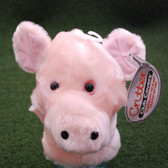 """Critter Club - Head Cover """"Pig"""" Putter Headcover - NEW"""