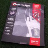 Zero Friction DistancePro GPS Golf Gloves - Men's Black&White - Great Idea! NEW