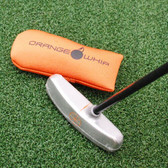 Orange Whip Putter Blade Training Aid - Putt balls with it! Tempo&Timing - NEW