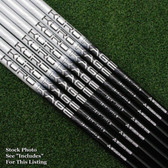 Kuro Kage SilverSeries KuroKage Iron Shafts .370 - 7pc Graphite A Senior NEW