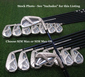TaylorMade's 2020 SIM Max OS Iron Set - 5-PA, Steel Stiff - NEW