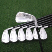 Honma Golf Tour World TW-X Forged Iron Set 4-10 Iron Vizard Graphite Stiff NEW