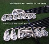 TaylorMade's 2020 SIM Max & Max OS Iron Sets Choose Model/Set MakeUp/Shaft&Flex