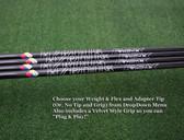 Project X HZRDUS Smoke Black RDX - Choose Weight Class & Flex w/Tip&Grip - NEW